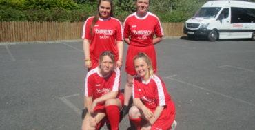 Girls 4 a side soccer event