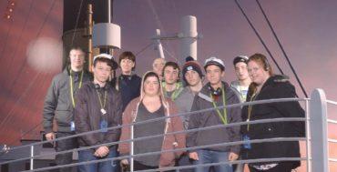 Trip to Titanic Centre Belfast